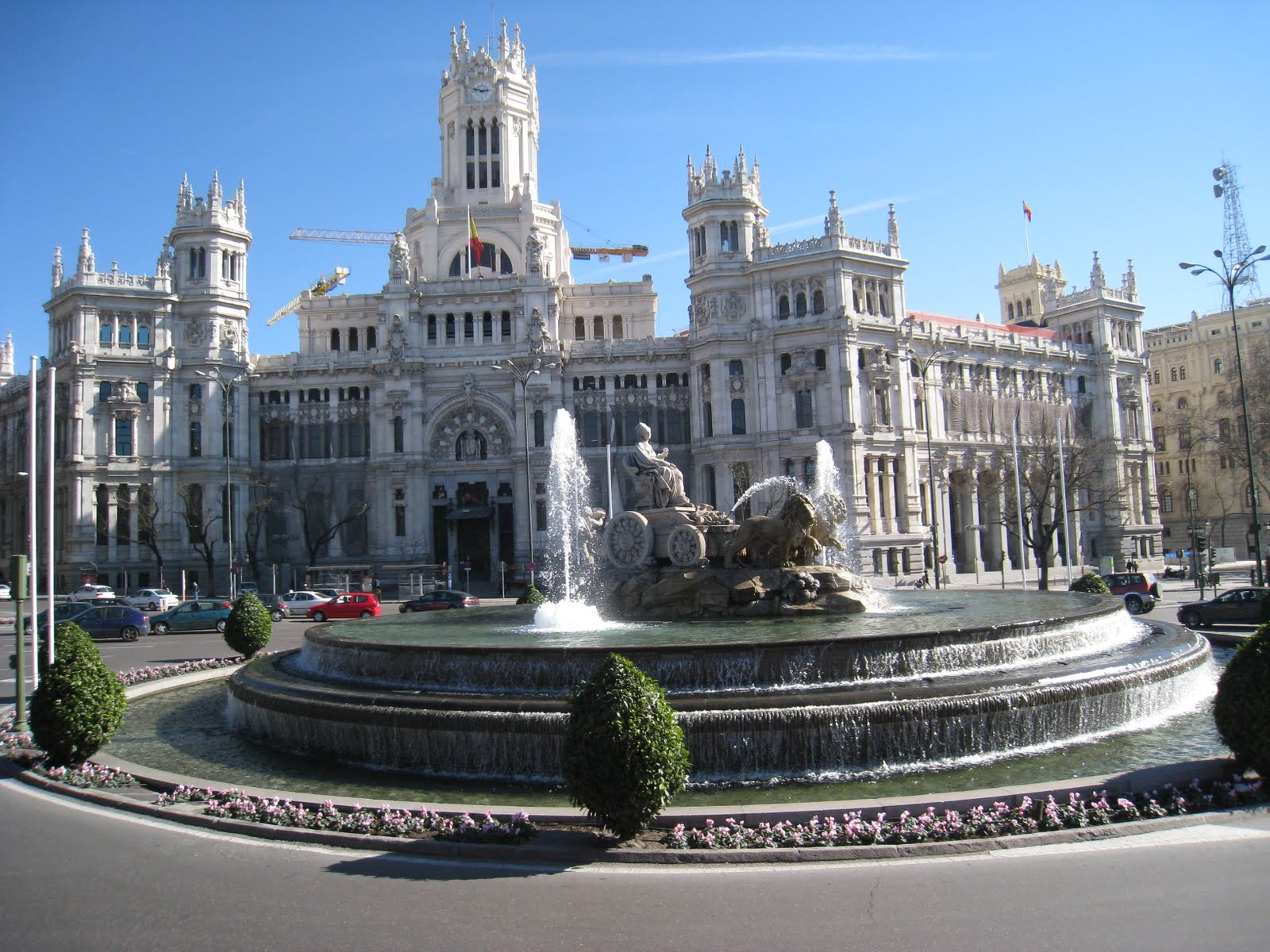 Plaza de Cibeles in Madrid - Fly-drive Midden Spanje